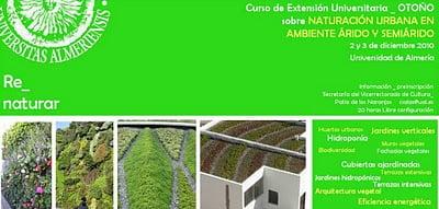 Curso 2-3 diciembre Jardinería Vertical y Terrazas Ecológicas