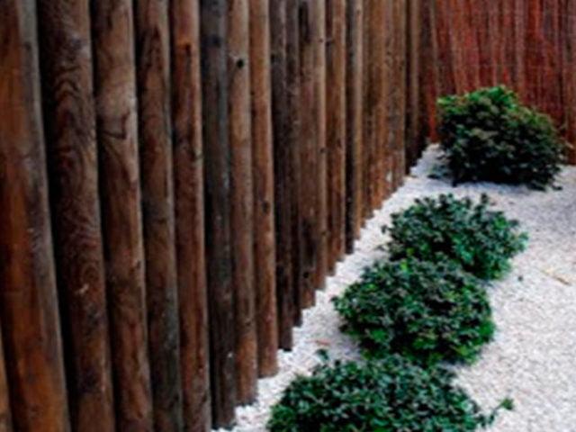 Jardín en pendiente
