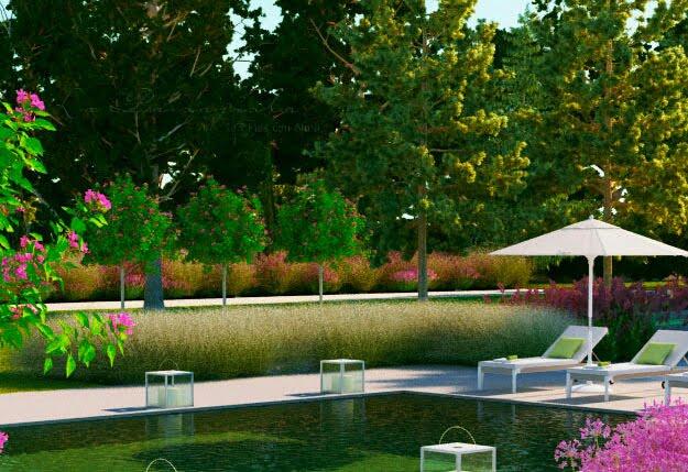 Jardines robados jardines con alma for Paisajismo para piscinas