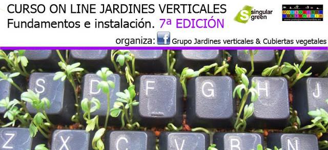 Curso Online Jardines Verticales 2016
