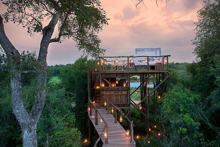 Las 20 mejores casas en rboles del mundo jardines con alma for Hotel con casas colgadas de los arboles
